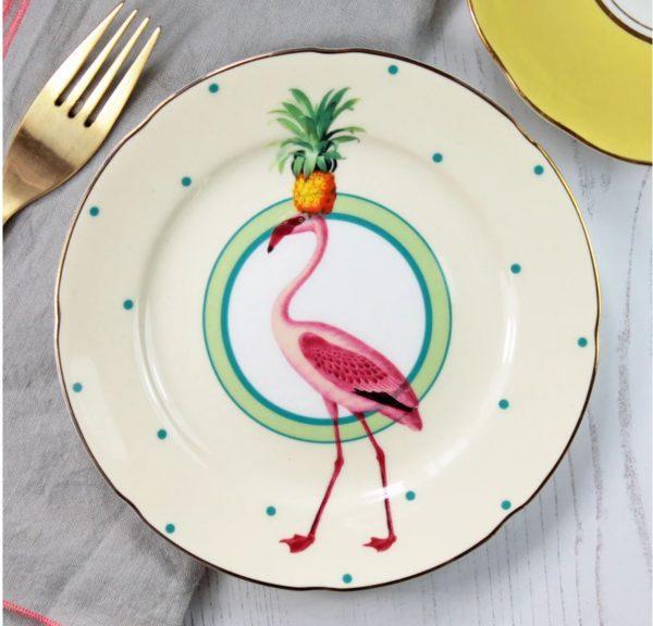 Flamingo plate 2