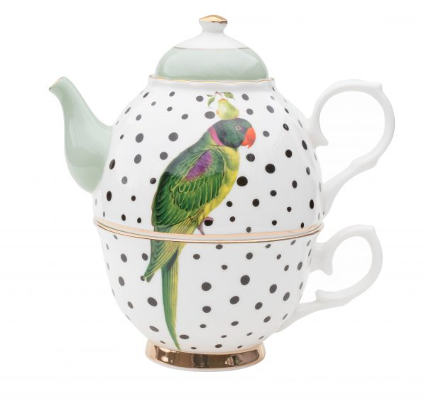 YV Parrot Tea for one
